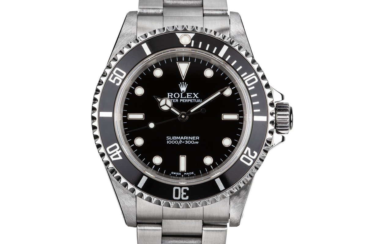 2001 Rolex Submariner 14060M photo, #0