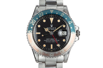 1970 Rolex GMT-Master 1675 given to Captain Eichhorst in 1973 photo