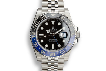 "2019 Rolex GMT-Master II 216710 BLNR ""Batman"" with Box and Papers photo"