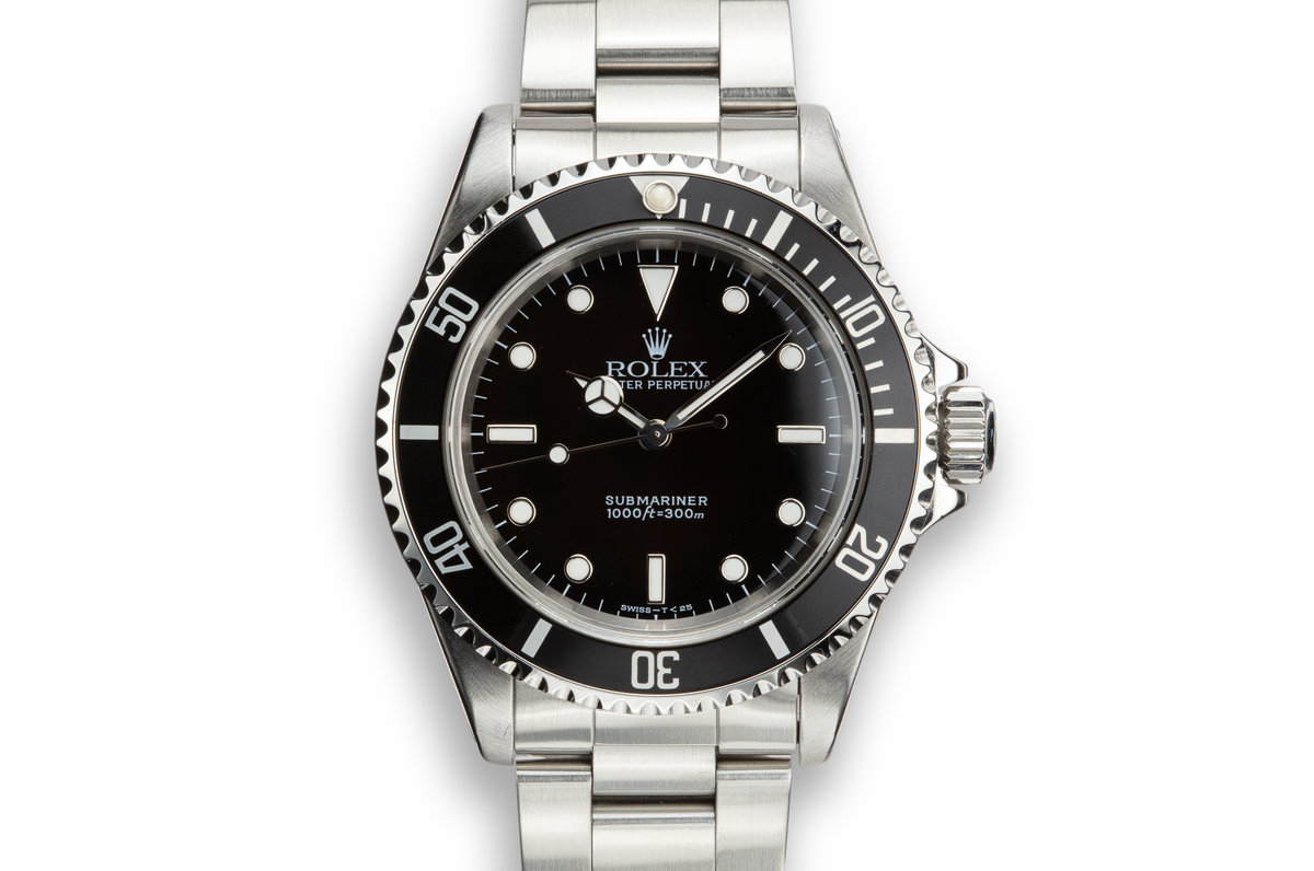 1995 Rolex Submariner 14060 with Tritium Dial photo, #0