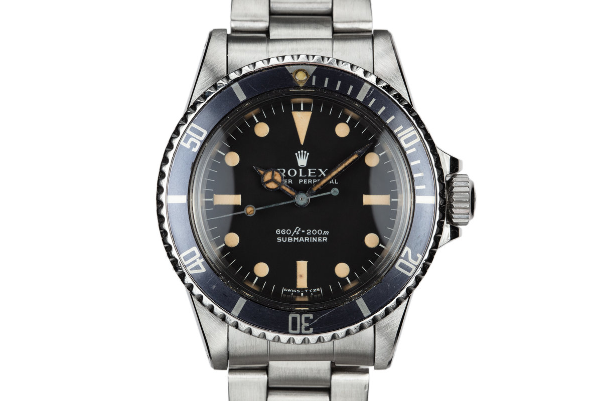 1977 Rolex Submariner 5513 Serif Dial photo, #0
