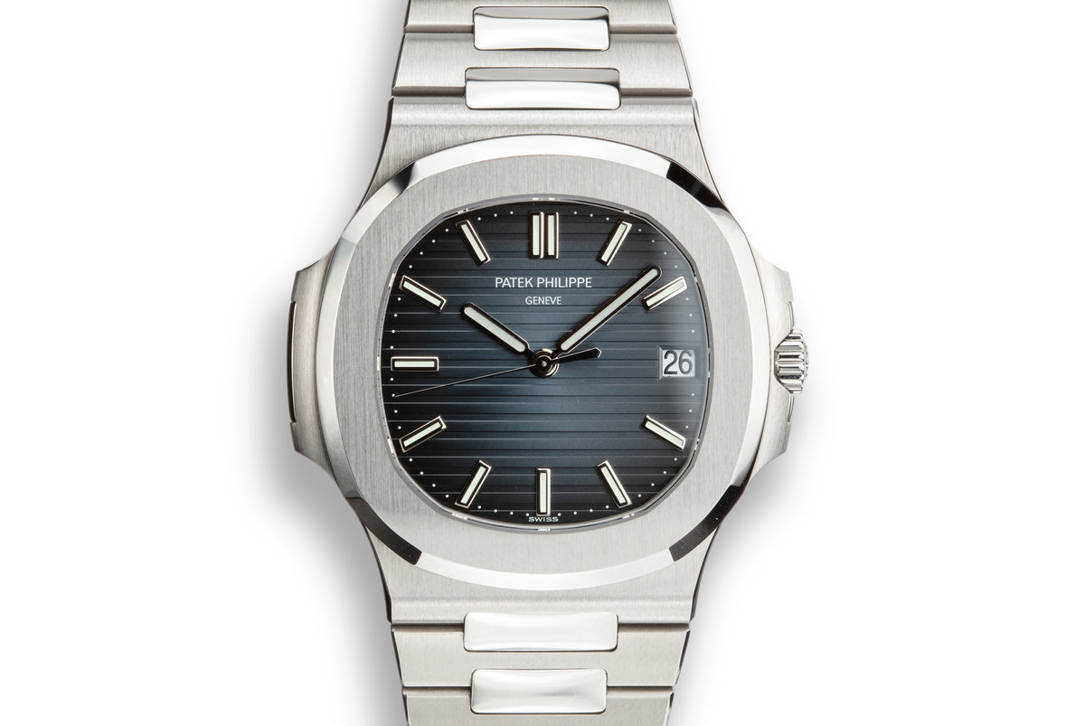 2018 Patek Philippe Nautilus 5711/1A-010 Blue Dial with Box and Papers photo, #0