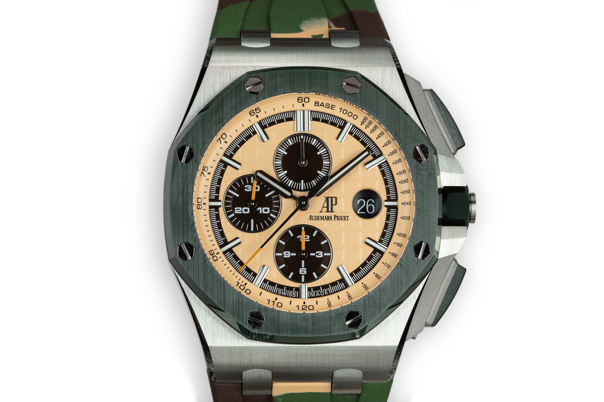 2018 Audemars Piguet Royal Oak Offshore 26400SO.OO.A054CA.01 with Box and Papers photo, #0