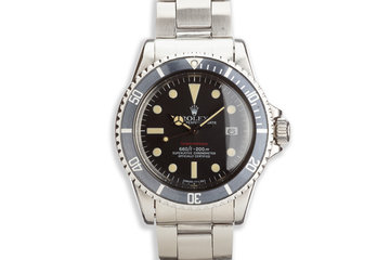 1975 Vintage Rolex Submariner 1680 Mark VI Dial photo