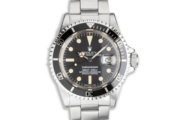 1978 Vintage Rolex Submariner 1680 with Creamy Tritium Lume photo
