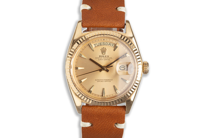 1972 18k Day-Date Gold Dial photo