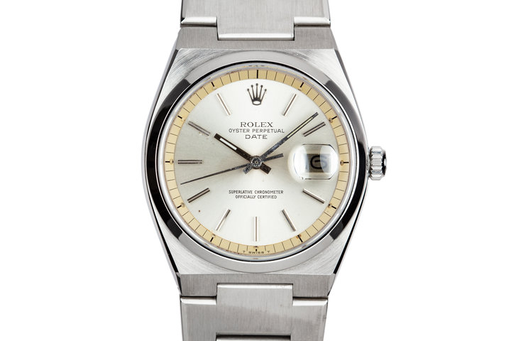 1975 Rolex Oyster Date 1530 Silver Dial photo