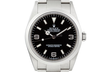 2000 Rolex Explorer 114270 photo