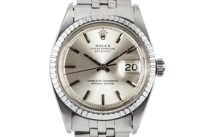 1968 Rolex DateJust 1603 with No Lume Dial photo