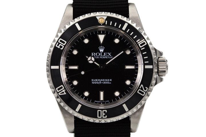 1991 Rolex Submariner 14060 photo