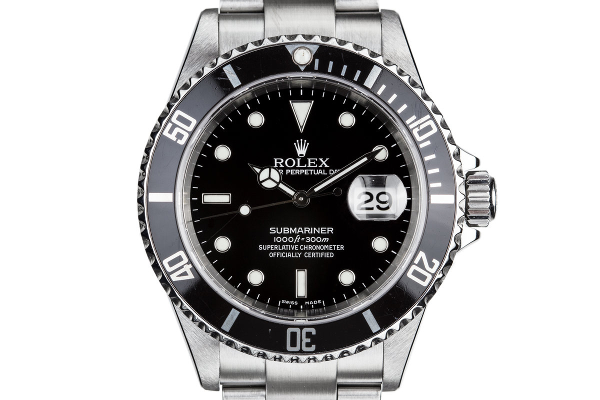2005 Rolex Submariner 16610 photo, #0