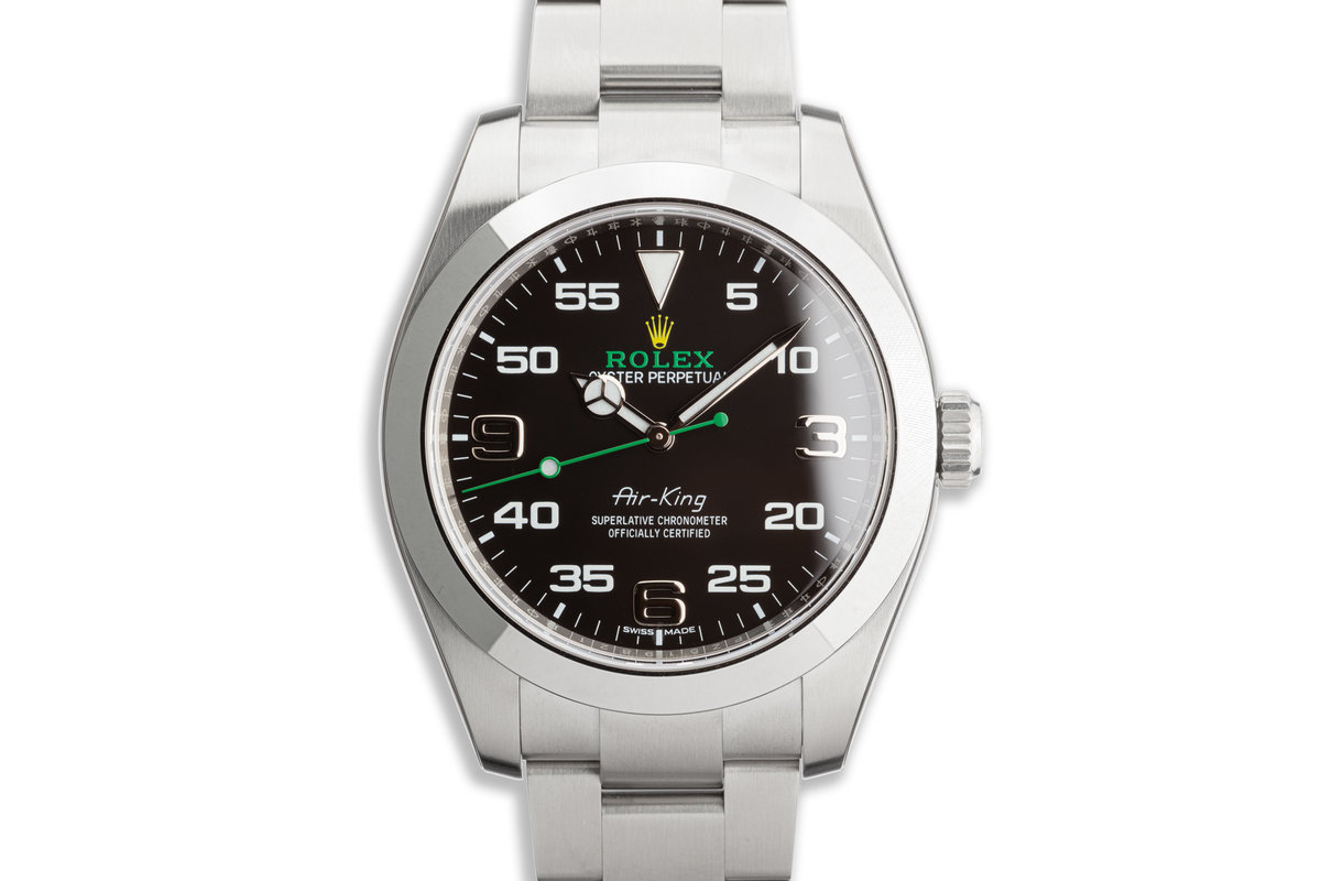 2020 Rolex Air-King 116900 with Box and Card photo, #0