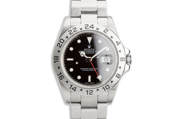 2005 Rolex Explorer II 16570 T Black Dial photo