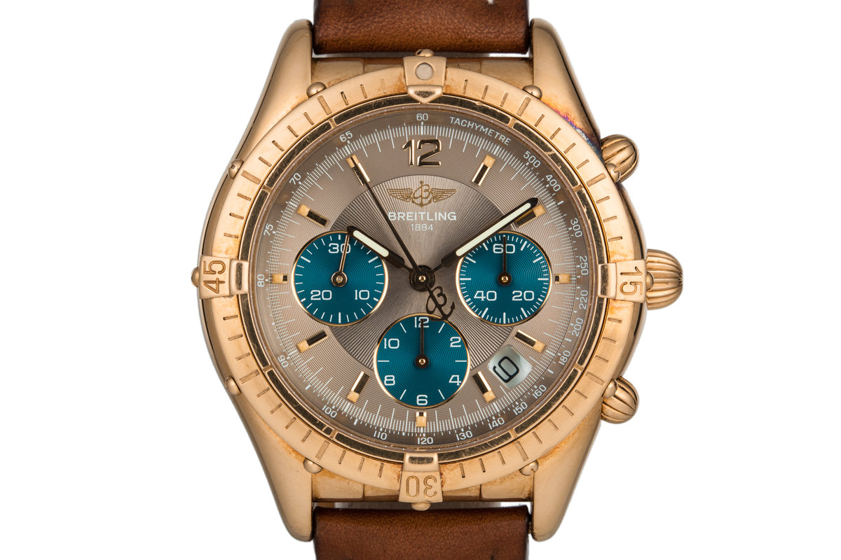 Breitling Brown Dial K30012 owned by Reggie Jackson from the New York Yankees photo, #0
