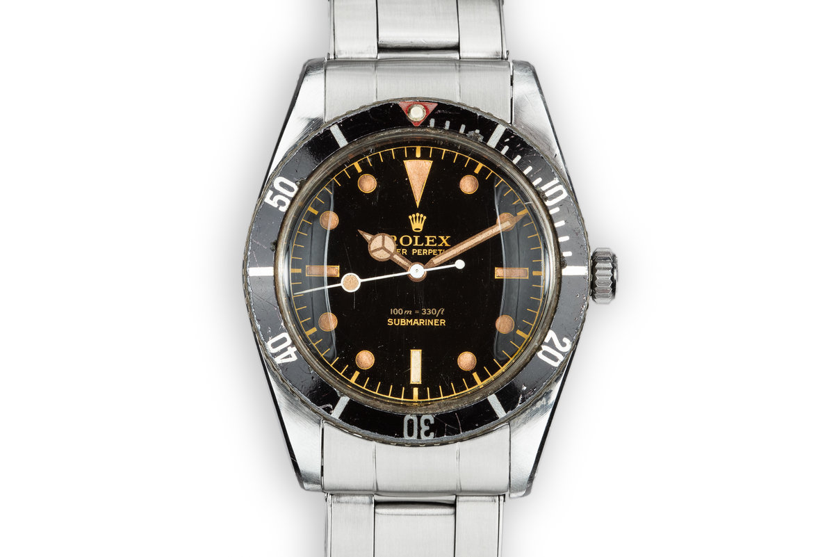 1957 Rolex Submariner 6536 with Red Triangle Insert photo, #0