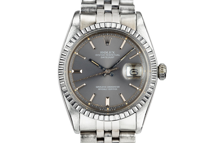 1977 Rolex DateJust 1603 with Grey Sigma Dial photo