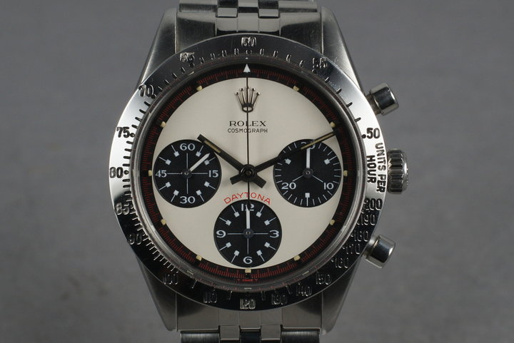 1969 Rolex Daytona 6239 with White 3 Color Paul Newman Dial photo