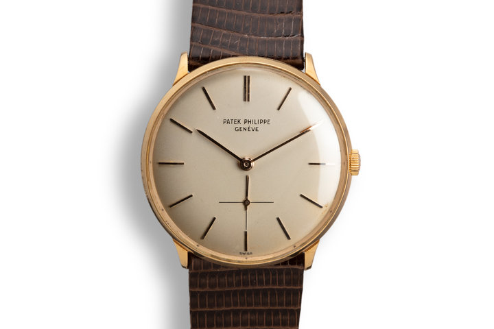 Patek Philippe 18K YG Calatrava 2573 photo