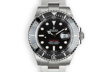 2017 Rolex Red Sea-Dweller 126600 With Box and Papers photo