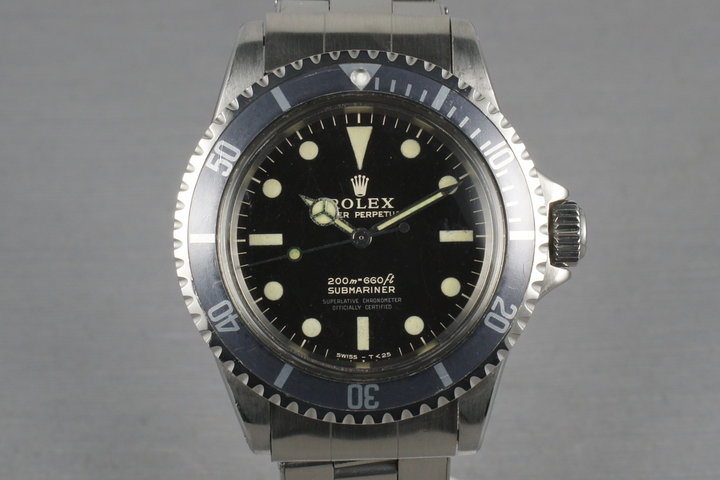 Rolex Submariner 5512 Gilt Dial with Box and Papers photo