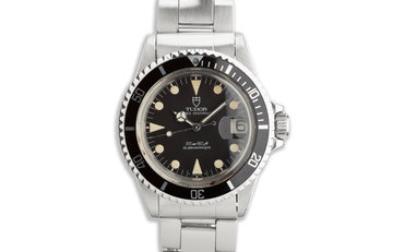 1984 Tudor OysterDate Submariner 76100 Matte Dial photo