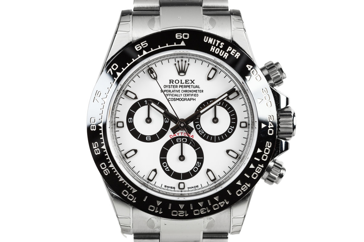 2017 Rolex Daytona 116500LN White Dial with Box and Papers MINT photo, #0