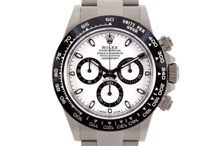 2017 Rolex Ceramic Daytona 116500LN White Dial with Box and Papers photo