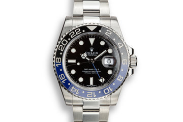 "2016 Rolex GMT-Master II 116710BLNR ""Batman"" with Box and Papers photo"