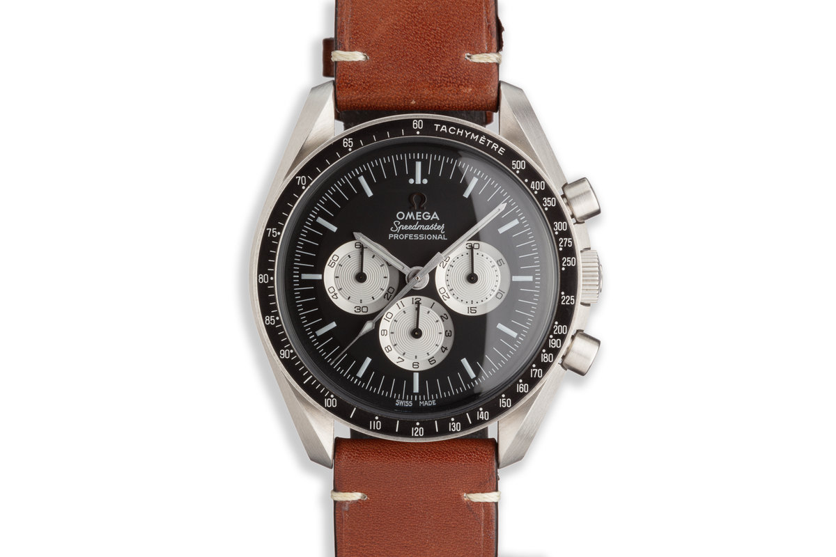 """2017 Omega Speedmaster Pro Hodinkee Limited Edition 130/2012 """"Speedy Tuesday"""" O.311.32.44.30.01.001 Box and Papers photo, #0"""