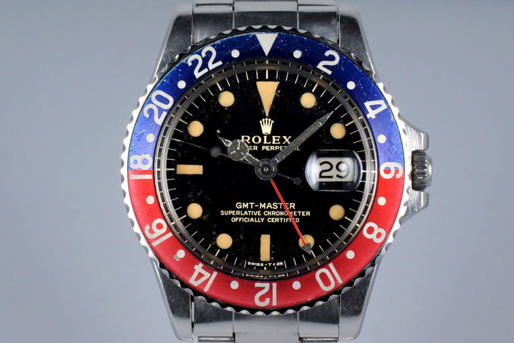 1966 Rolex GMT 1675 Glossy Gilt Dial photo