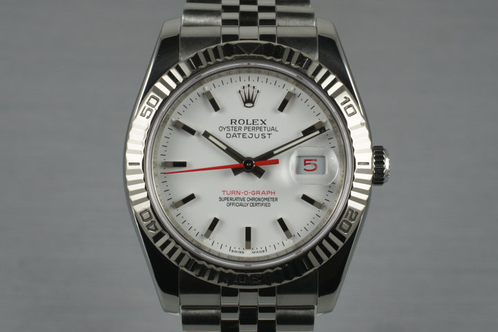 2003 Rolex DateJust 116264 Turn-O-Graph photo