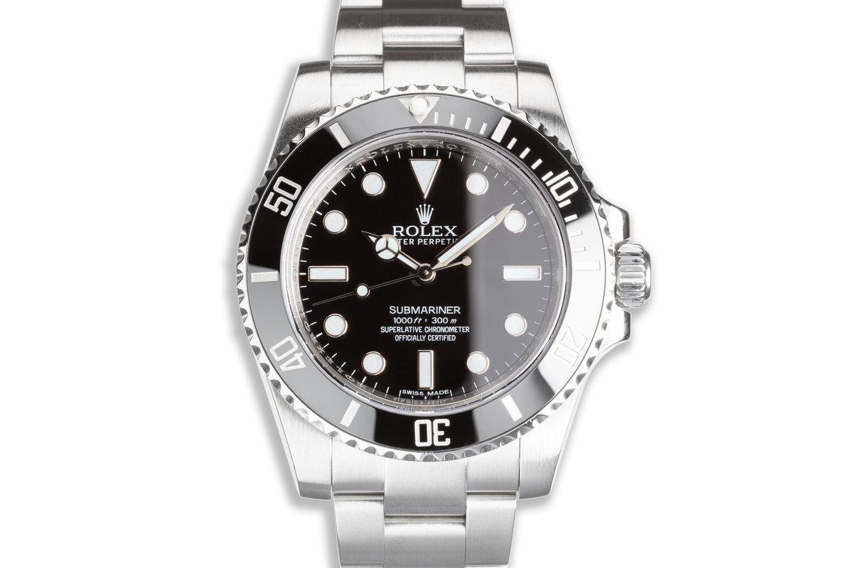 Rolex Ceramic Submariner No-Date 114060 photo, #0