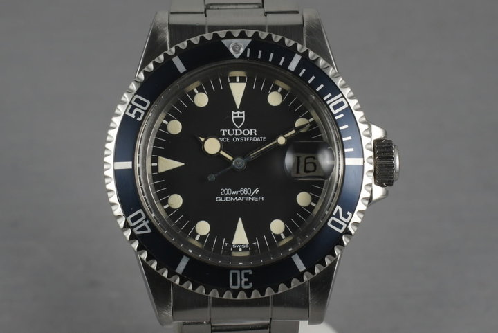 1981 Tudor Submariner 76100 with Non-Mercedes Hand photo