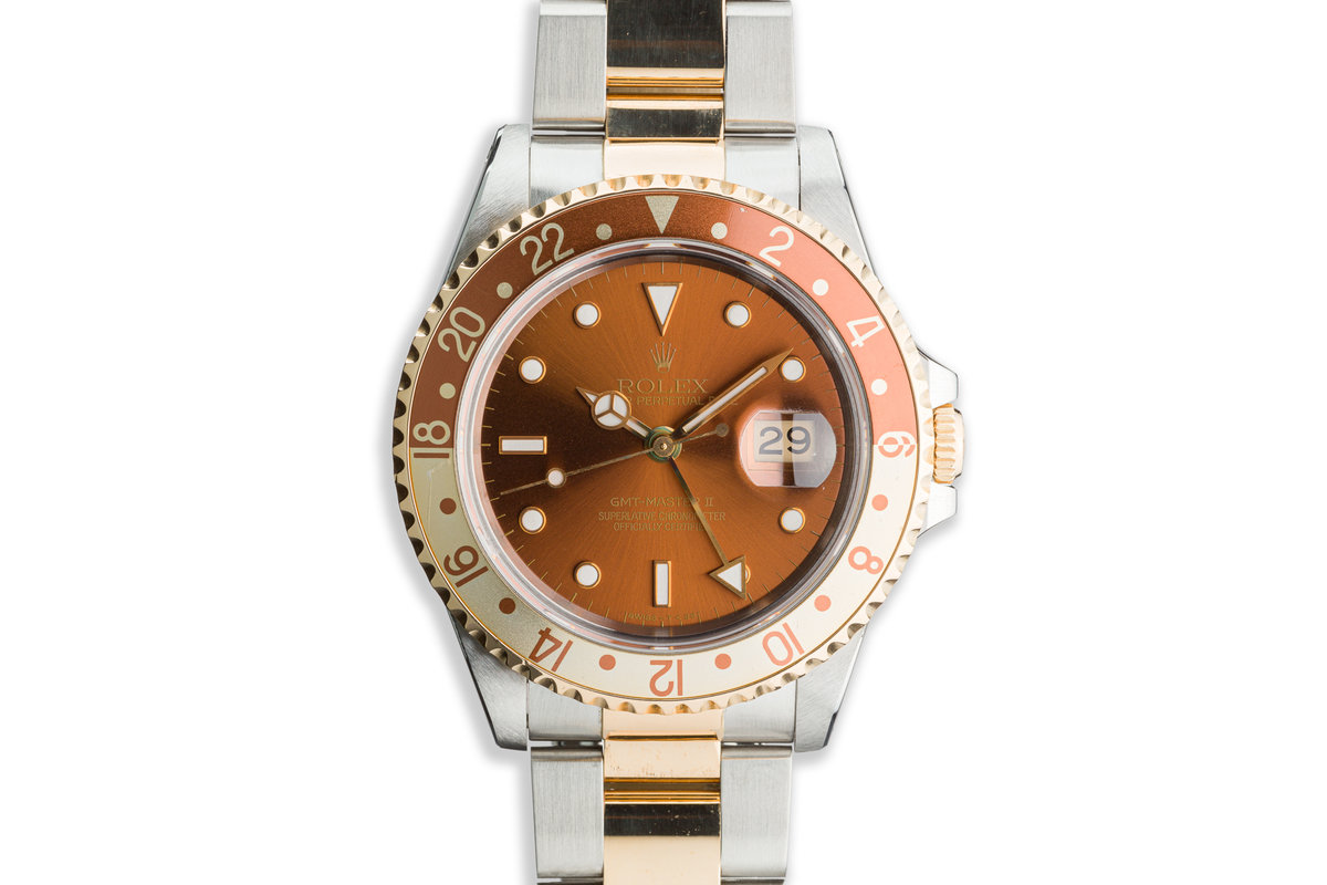 "1993 Rolex Two-Tone GMT-Master II 16713 ""Rootbeer"" photo, #0"