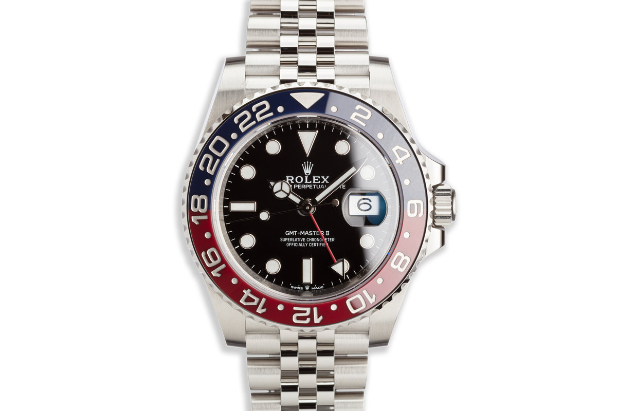 2019 Rolex GMT-Master II 126710BLRO with Box and Card photo, #0