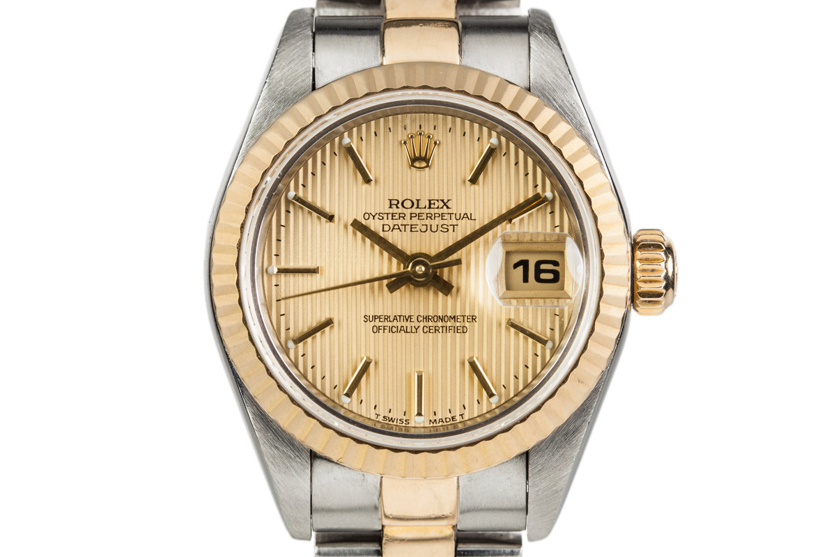 2000 Rolex Ladies Datejust 79173 with Tapestry Dial photo, #0