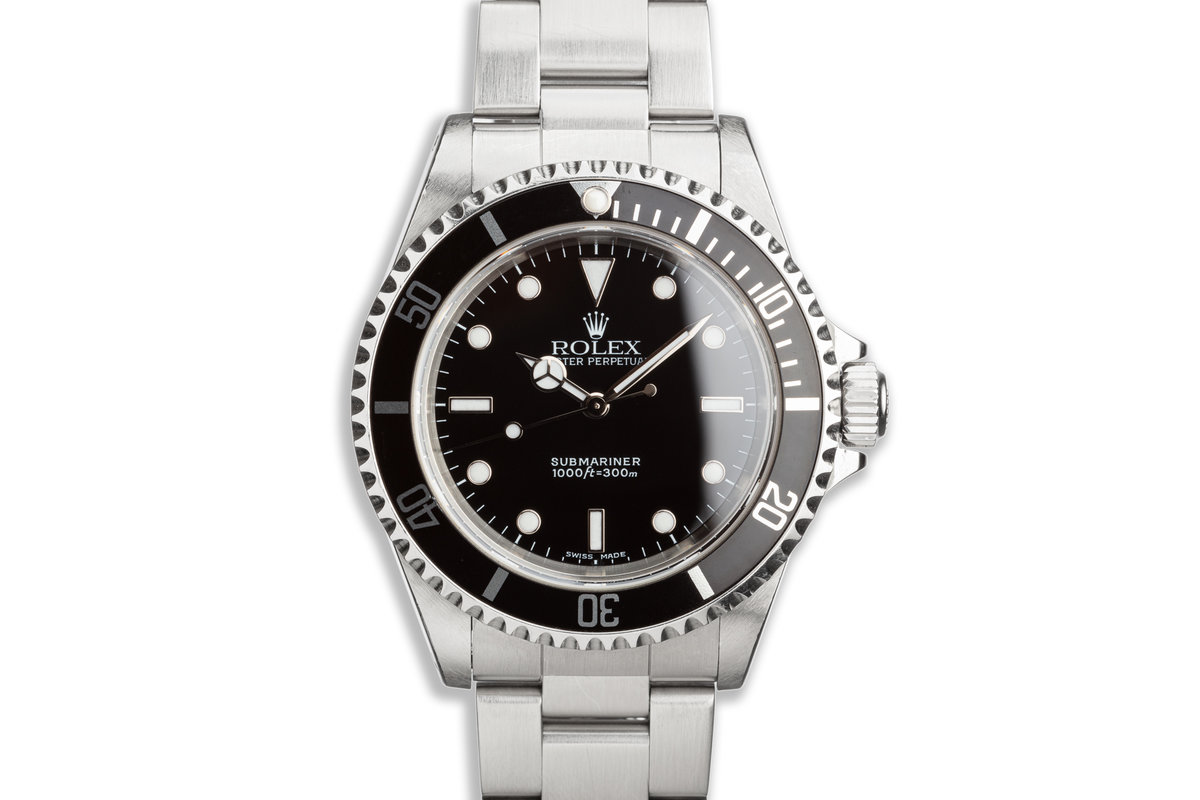 2000 Rolex Submariner 14060M photo, #0