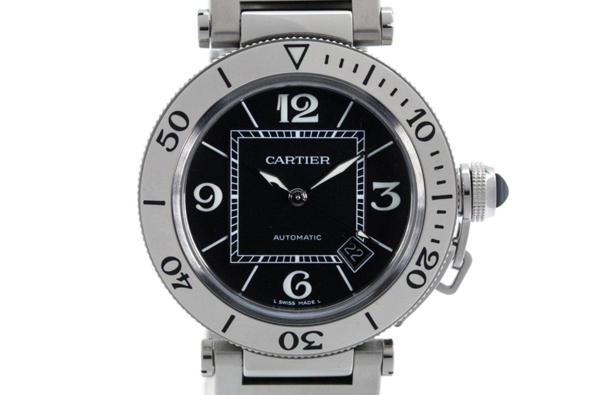 Cartier Pasha Sea Timer 2790 Black Dial photo, #0