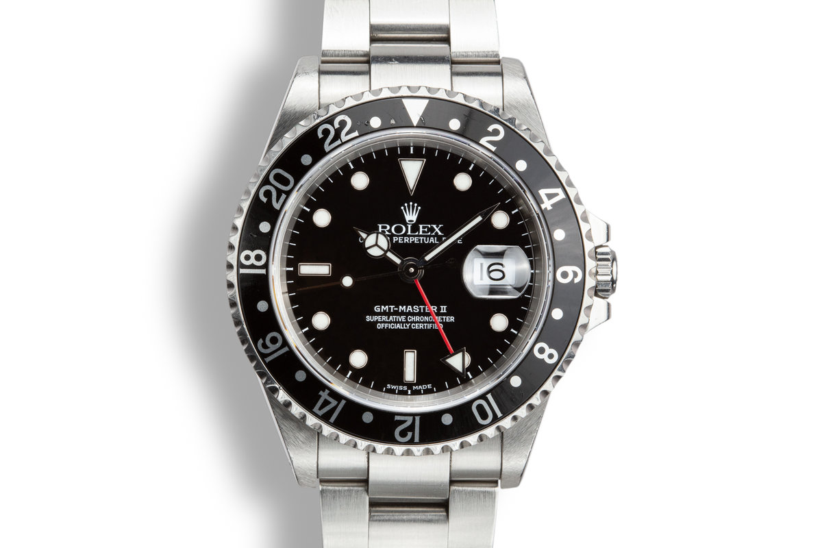 2000 Rolex GMT-Master II 16710 photo, #0