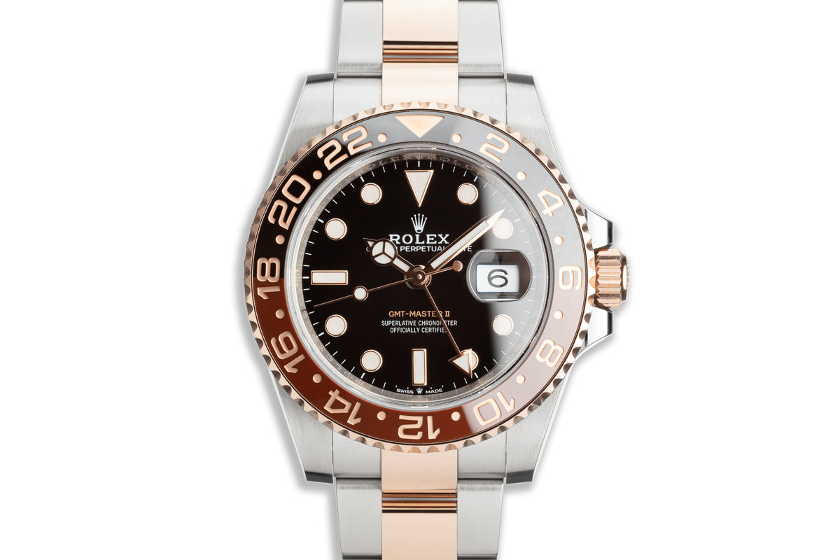 """2020 Rolex EVEROSE GMT-Master II 126711CHNR """"Root Beer"""" with Box and Card photo, #0"""