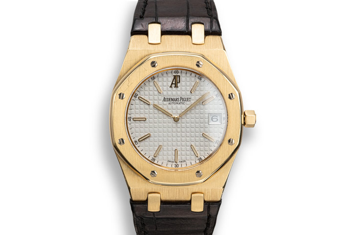 Audemars Piguet 18K YG Royal Oak Ultra-Thin 15202 photo