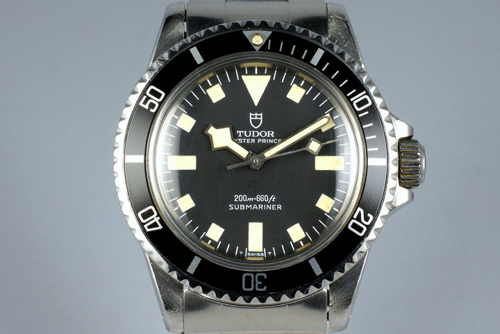 Mid 1980's Tudor Submariner 94010 Snowflake photo