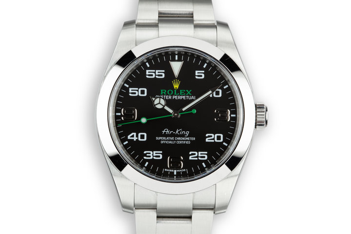 2016 Rolex Air-King 116900 with Box and Papers photo