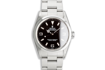 "1997 Rolex Explorer 14270 ""Swiss Only"" Dial photo"