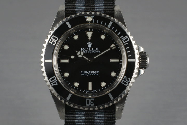 2001 Rolex Submariner 14060M photo