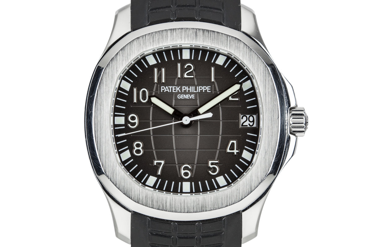 Hq Milton 2008 Patek Philippe Aquanaut 5165a 001 With Box And