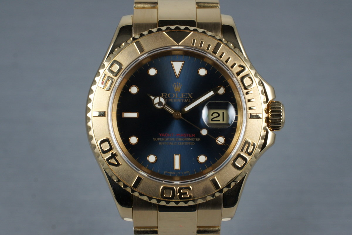 1995 Rolex YG Yacht-Master 16628 with Box and Papers photo, #0