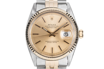 1972 Rolex Two-Tone DateJust 1601 photo