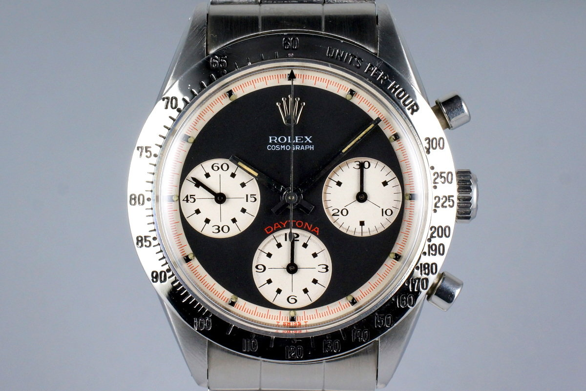 d5af0f73f79 HQ Milton - 1967 Vintage Rolex Daytona 6239 with Black 3 Color Paul ...