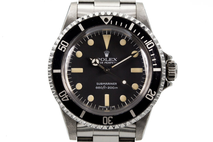 1981 Rolex Submariner 5513 Mark II Maxi Dial  photo